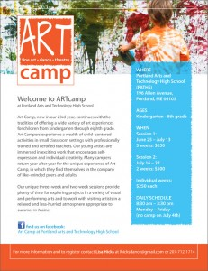 Art Camp Poster - Large View