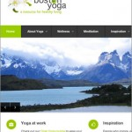 WordPress Web Site for Boston Yoga