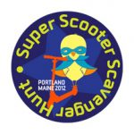 Super Scooter Scavenger Hunt logo
