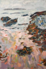 """Kettle Cove III,"" 36"" x 54,"" acrylic on canvas"
