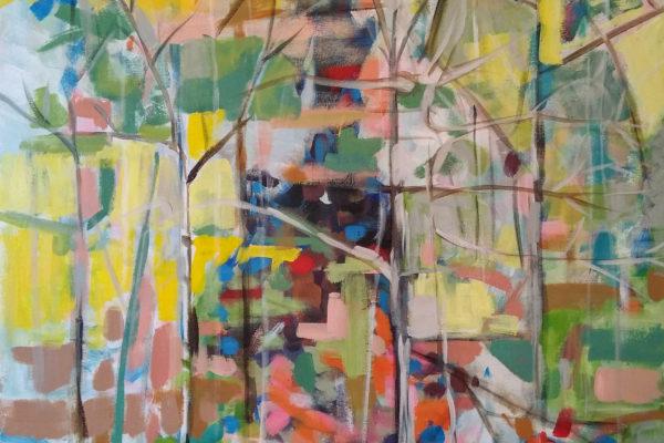 """Untitled"", 42"" x 36"", acrylic on canvas"